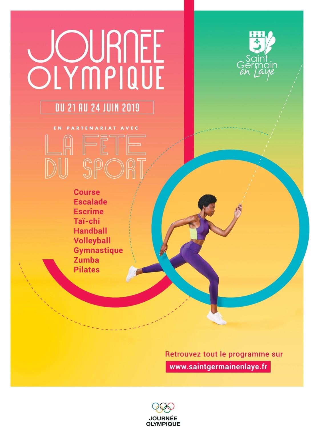 Affiche Fête du Sport 2019
