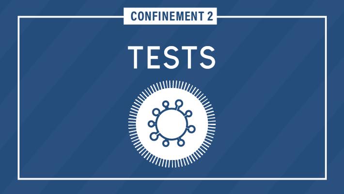 - Covid-19 : dépistage tests PCR & antigéniques