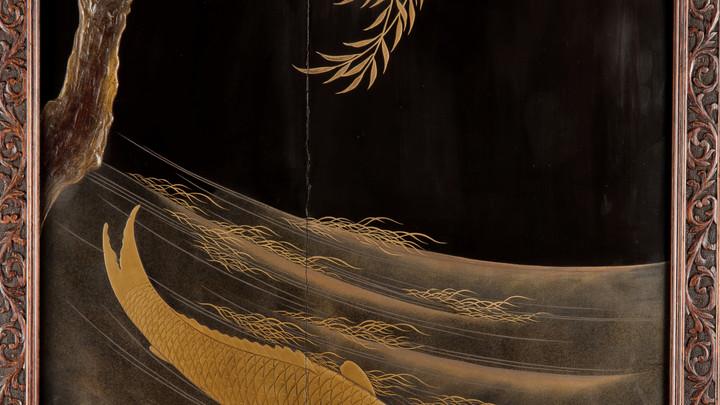 """Photo du tableau nommé """"Poisson d'or Nanzhou"""""""