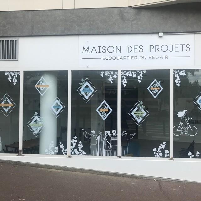 Maison des projets Bel-Air Saint-Germain-en-Laye