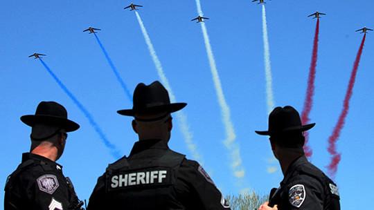 Meaning, la patrouille de France aux Etats-Unis