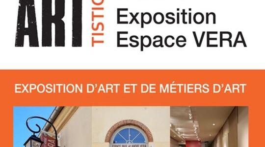 Exposition d'art et de métiers d'art par l'association Artistic' à l'espace Vera du 13 au 15 décembre