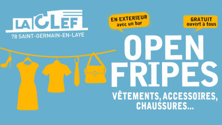 - La CLEF : Open Fripes - Vide-dressing solidaire