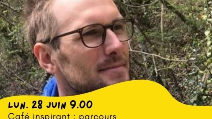 - Quai des possibles - Café inspirant - Découvrez Adrien Falewe, éco-aventurier