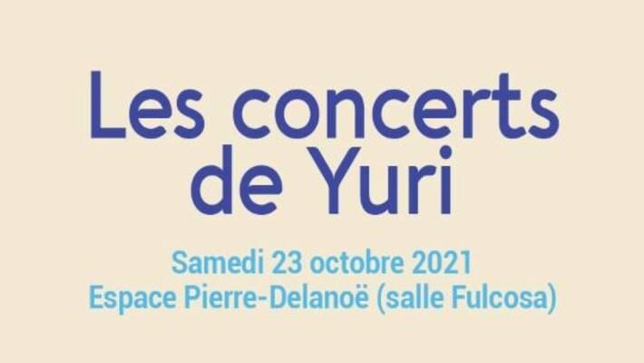 - Espace Pierre-Delanoë - Les concerts de Yuri