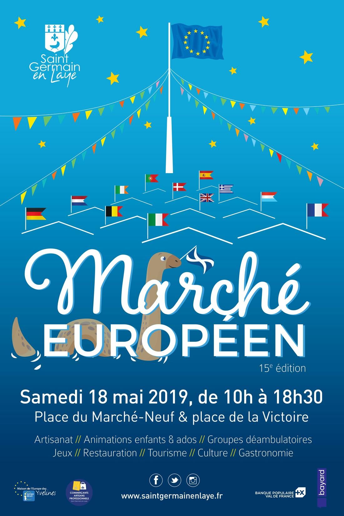 Affiche Marché européen 2019