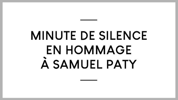 - Hommage à Samuel Paty