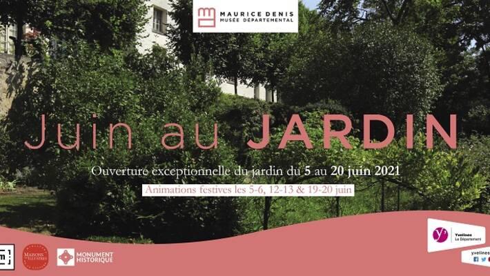 - « Juin au jardin » : le musée Maurice-Denis ouvre gratuitement son jardin au public