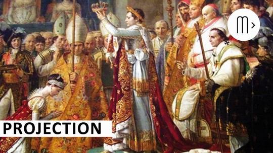 Napoléon, David - Le sacre de l'image