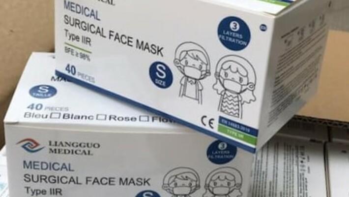 - Des masques pour nos élèves