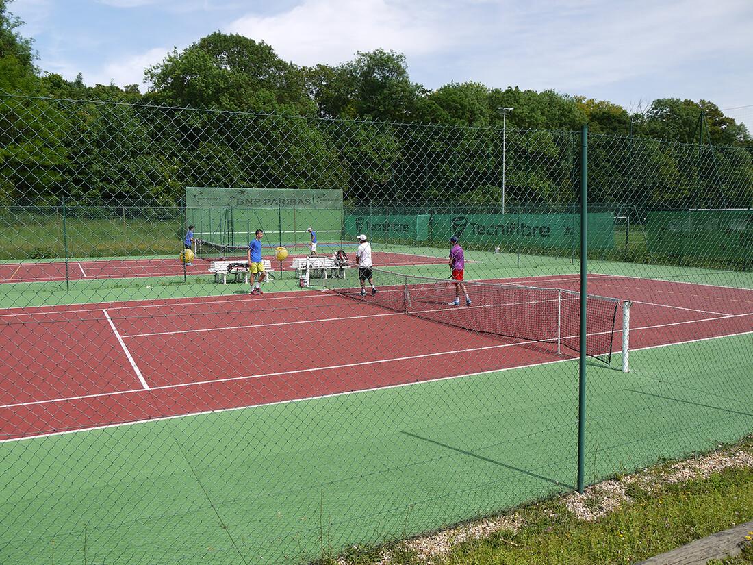 Courts de tennis stade Claude-Bocard
