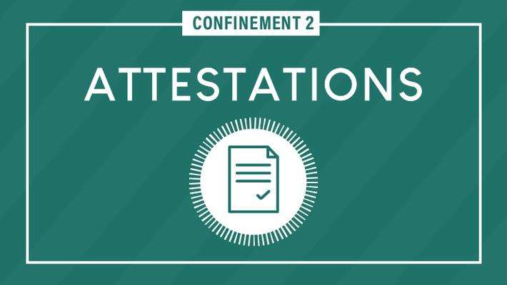 - Covid-19 : les attestations et justificatifs