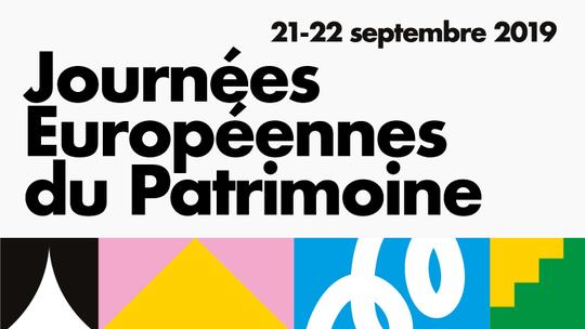 Journée européenne du patrimoine 2019, les 21 et 22 septembre 2019