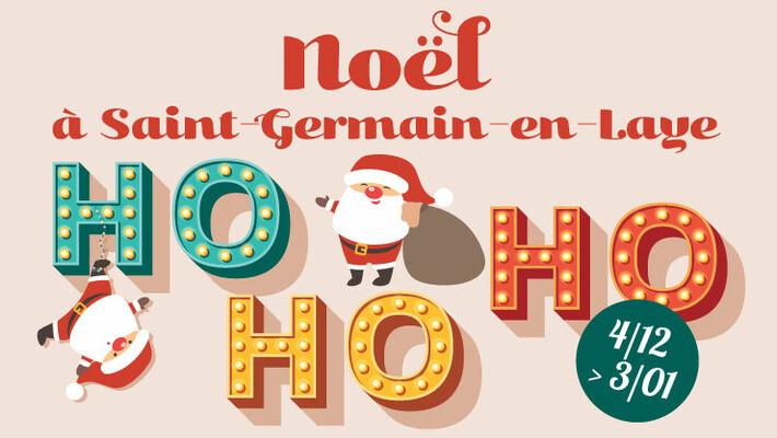 - Ho Ho Ho - Noël à Saint-Germain-en-Laye