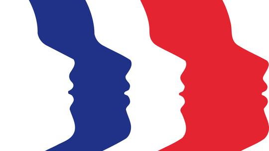 Logo Marianne tricolore