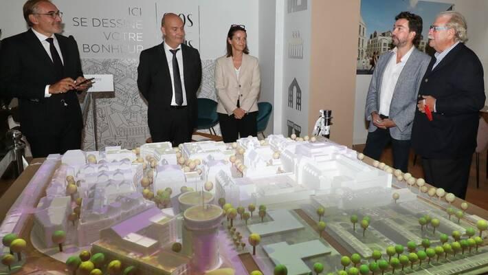 - Reconversion du site de l'hôpital - Le Clos Saint-Louis, lancement de la première phase opérationnelle