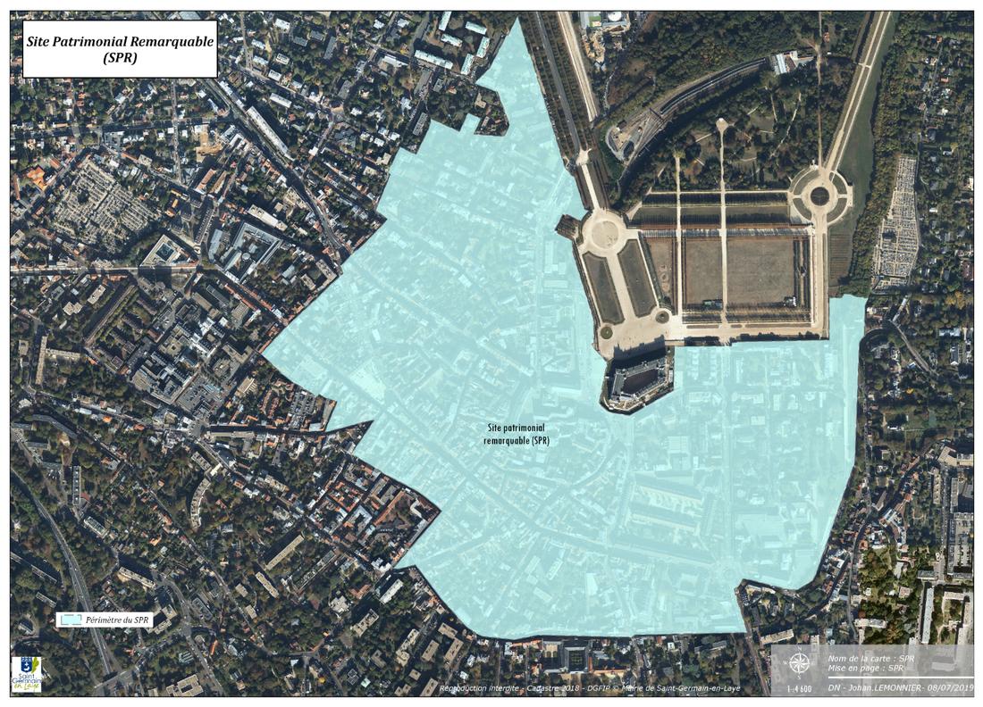 Plan de sauvegarde et de mise en valeur Saint-Germain-en-Laye