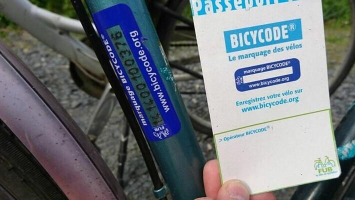 - Opération Bicycode : graver son vélo