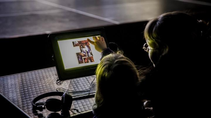Micro-Folie Sevran musée numérique ©Arnaud Robin