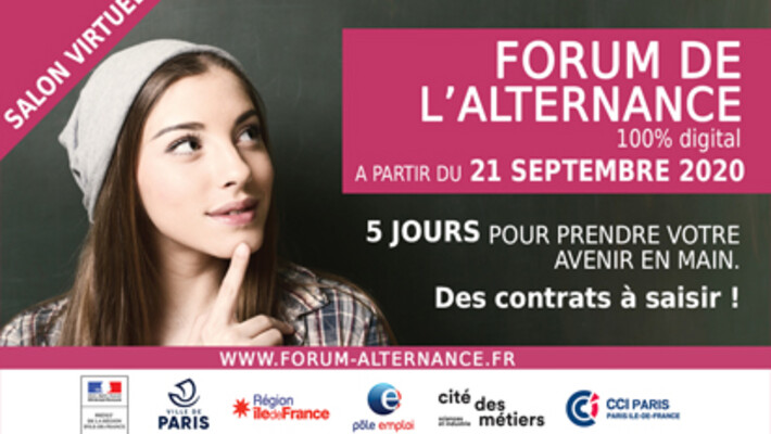 - Ouverture du 25e forum de l'alternance