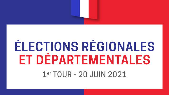 - Résultats - Premier tour des élections régionales et départementales