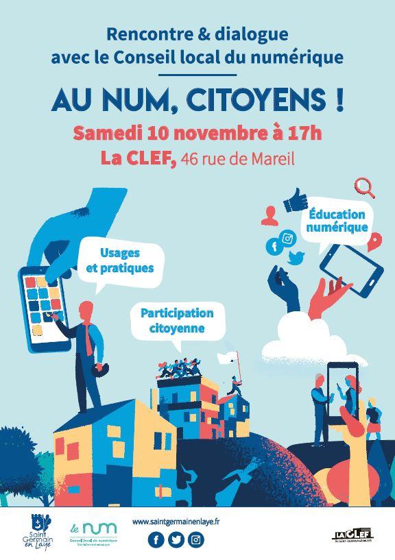 Affiche - Au Num citoyens