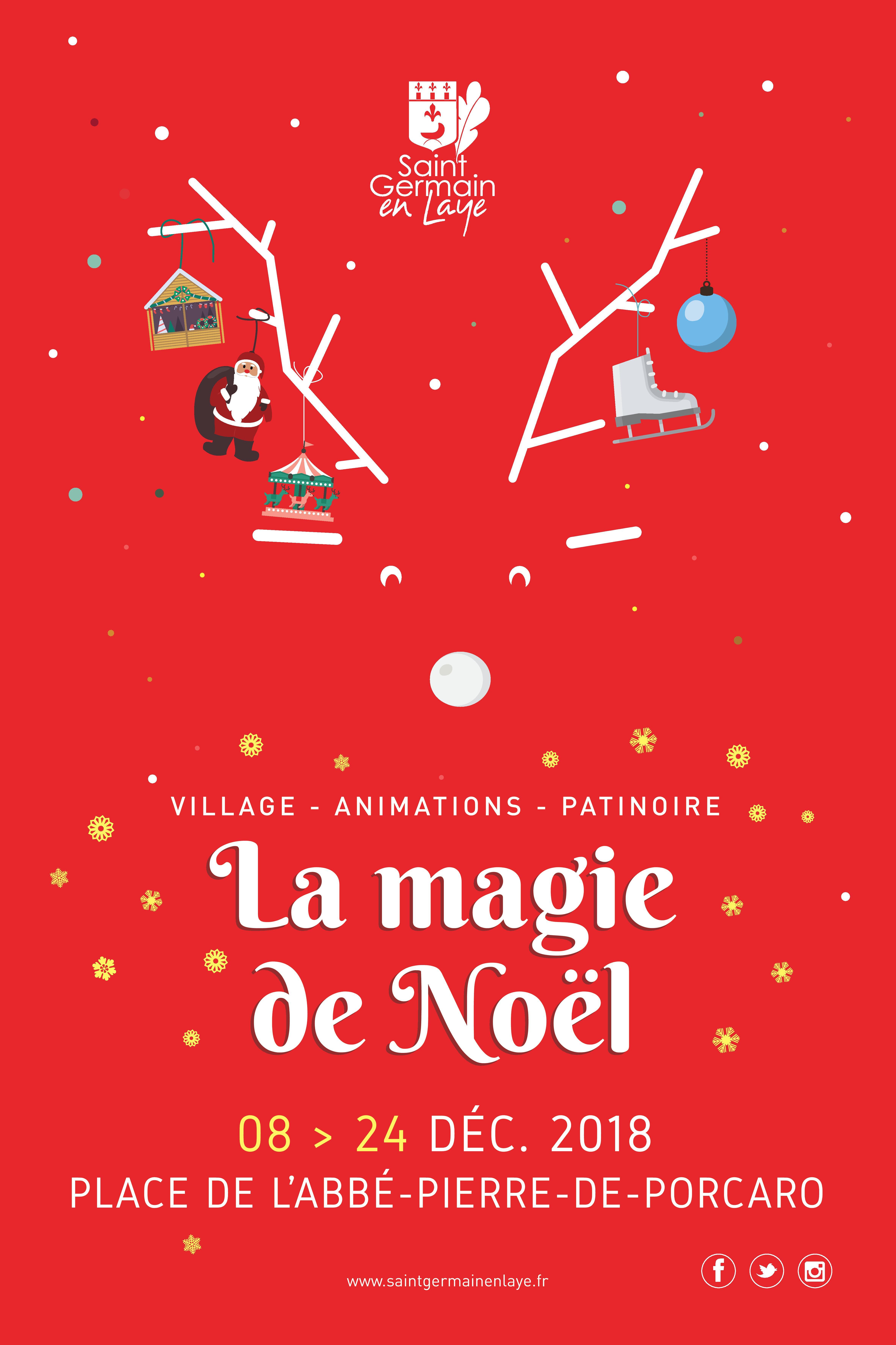 Le Village De Noël Ville De Saint Germain