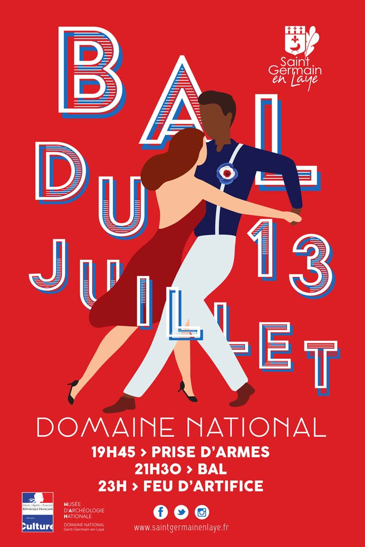 Affiche Bal du 13 juillet 2019