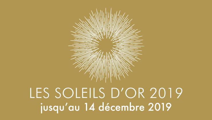 Illustration des Soleil d'Or, dont les inscriptions se déroulent du 6 novembre au 14 décembre