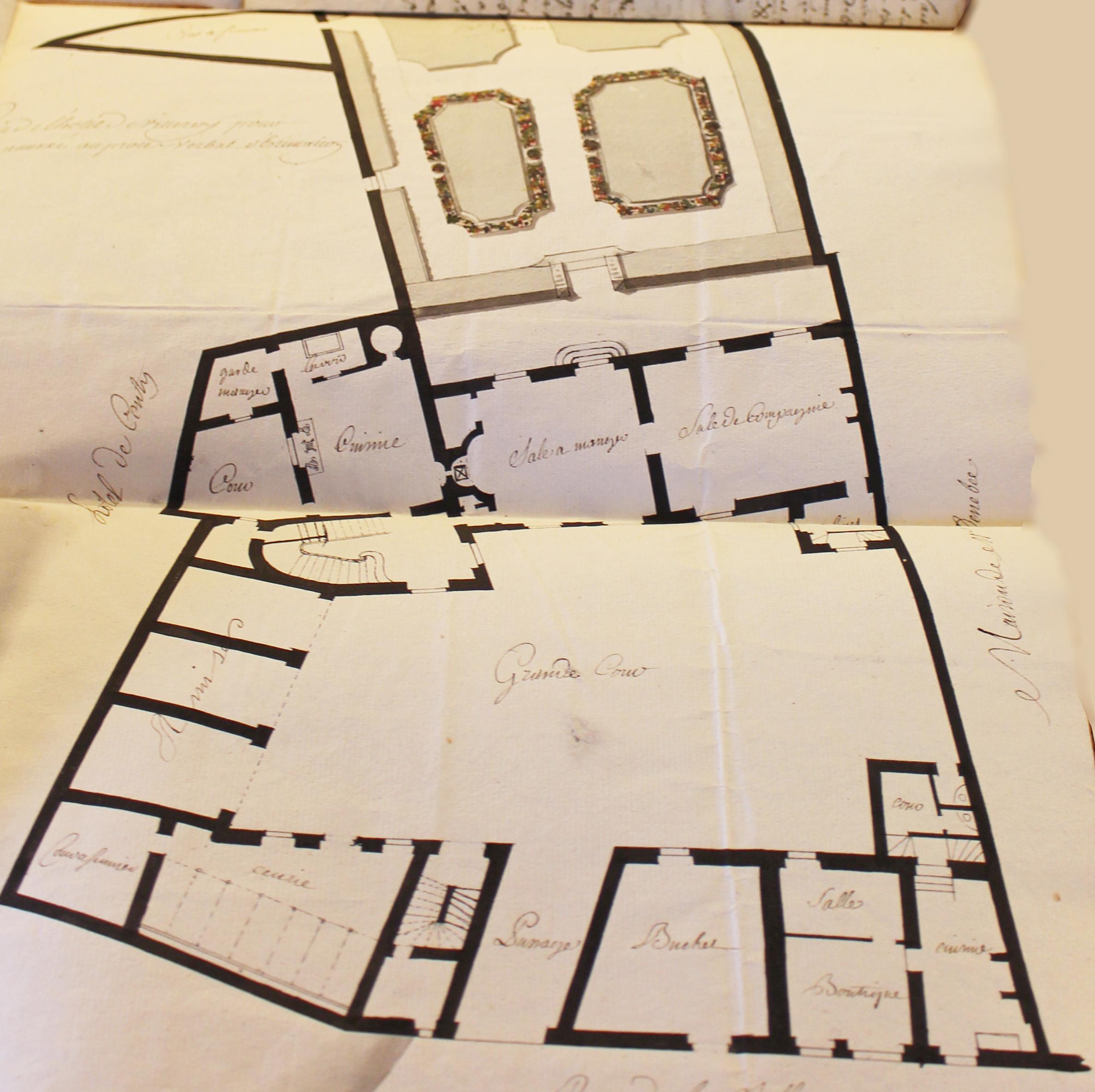 Plan Ville Chausse Saint Victor