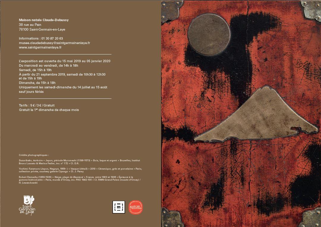 Flyer saison musicale Maison Claude-Debussy 2019-2020
