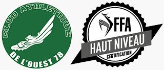 Logo du Club athlétique de l'ouest 78