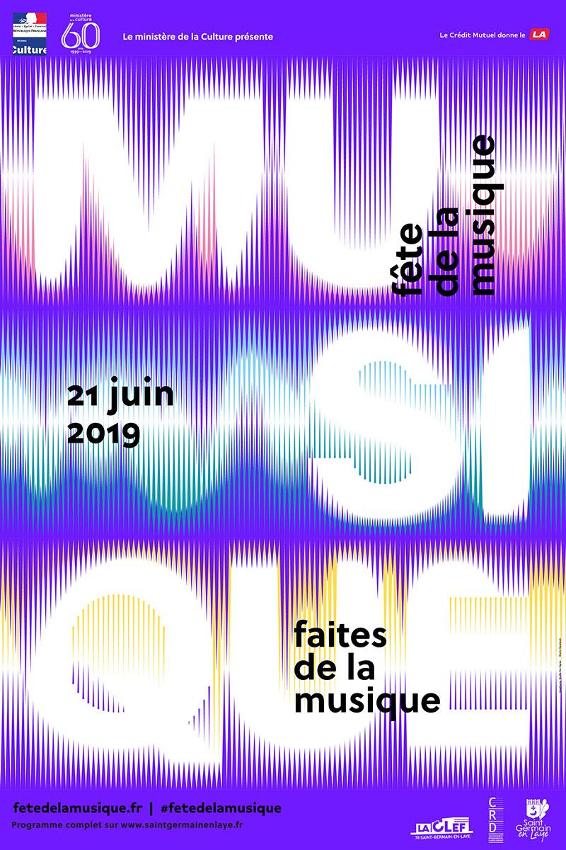 Affiche Fête de la musique édition 2019