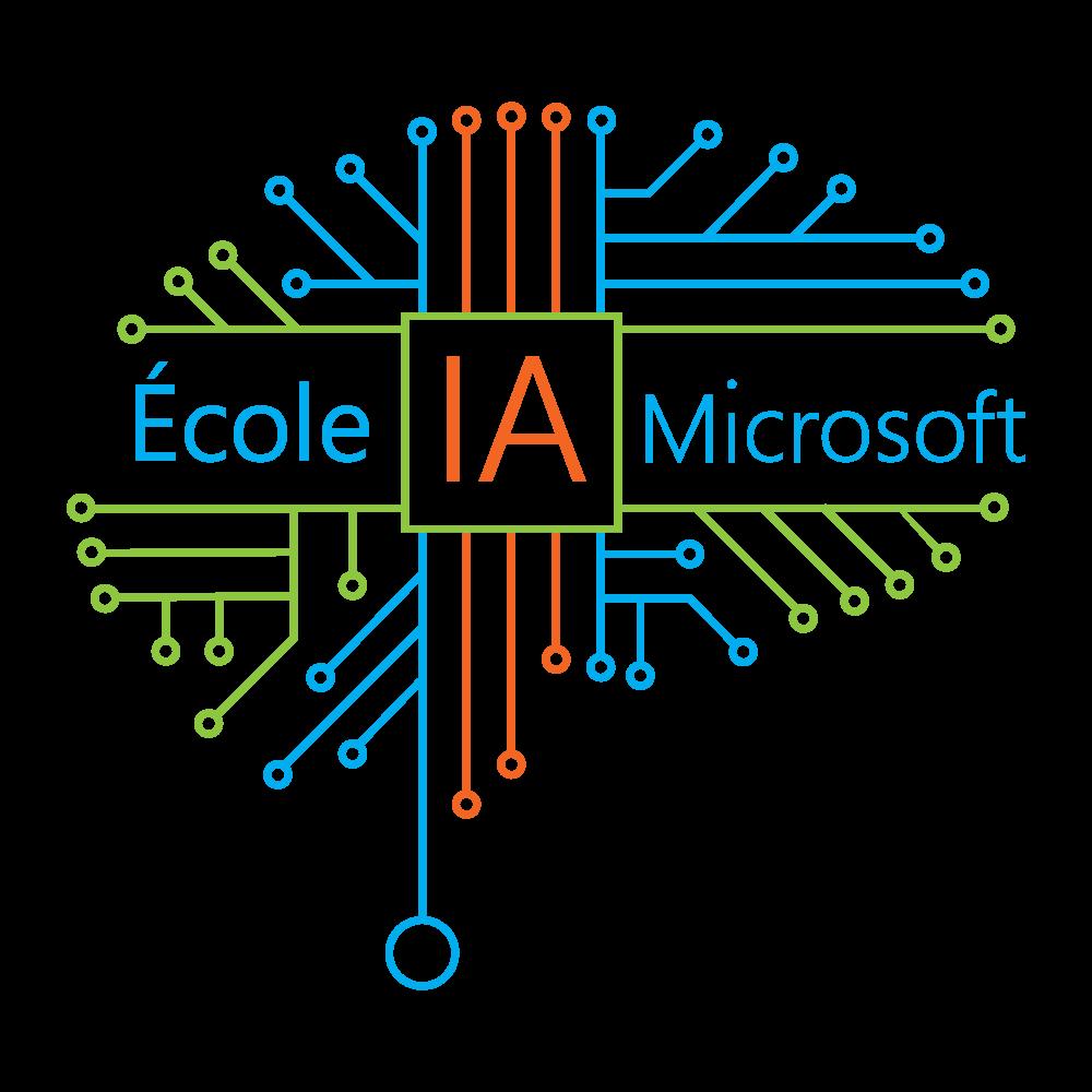 Logo Ecole IA Microsoft