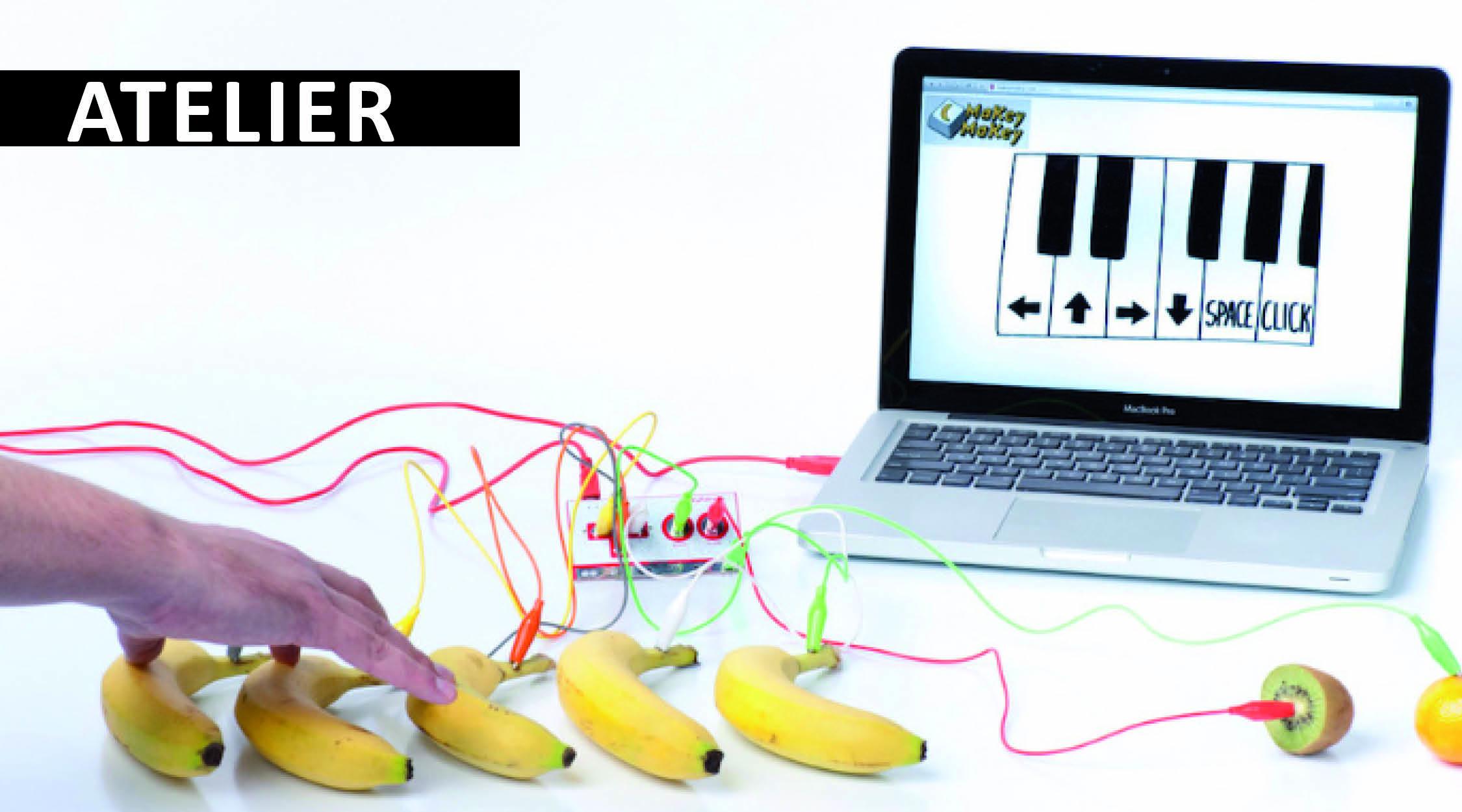 Atelier Piano Banane Makey-Makey