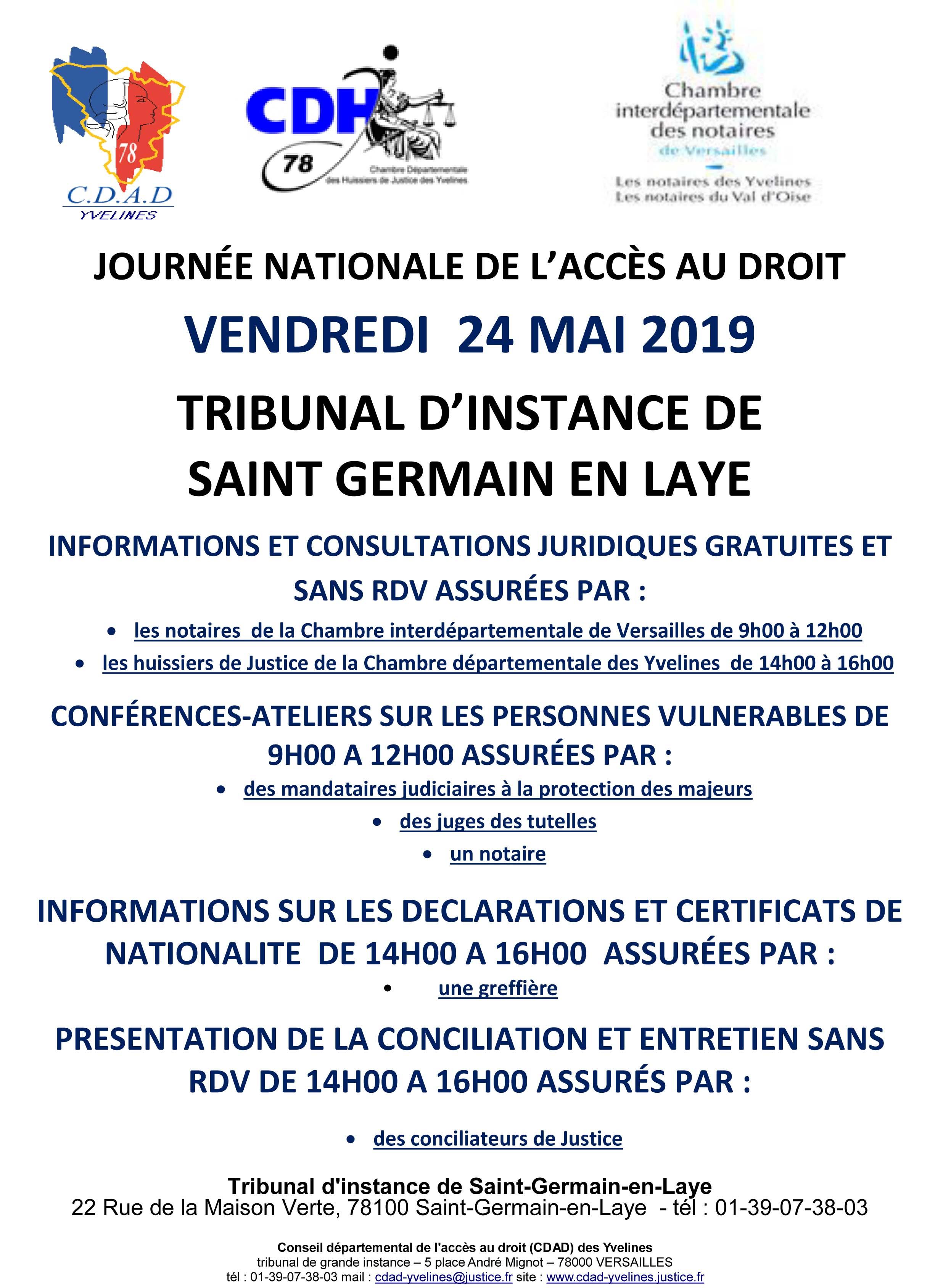 Journée internationale de l'accès au droit