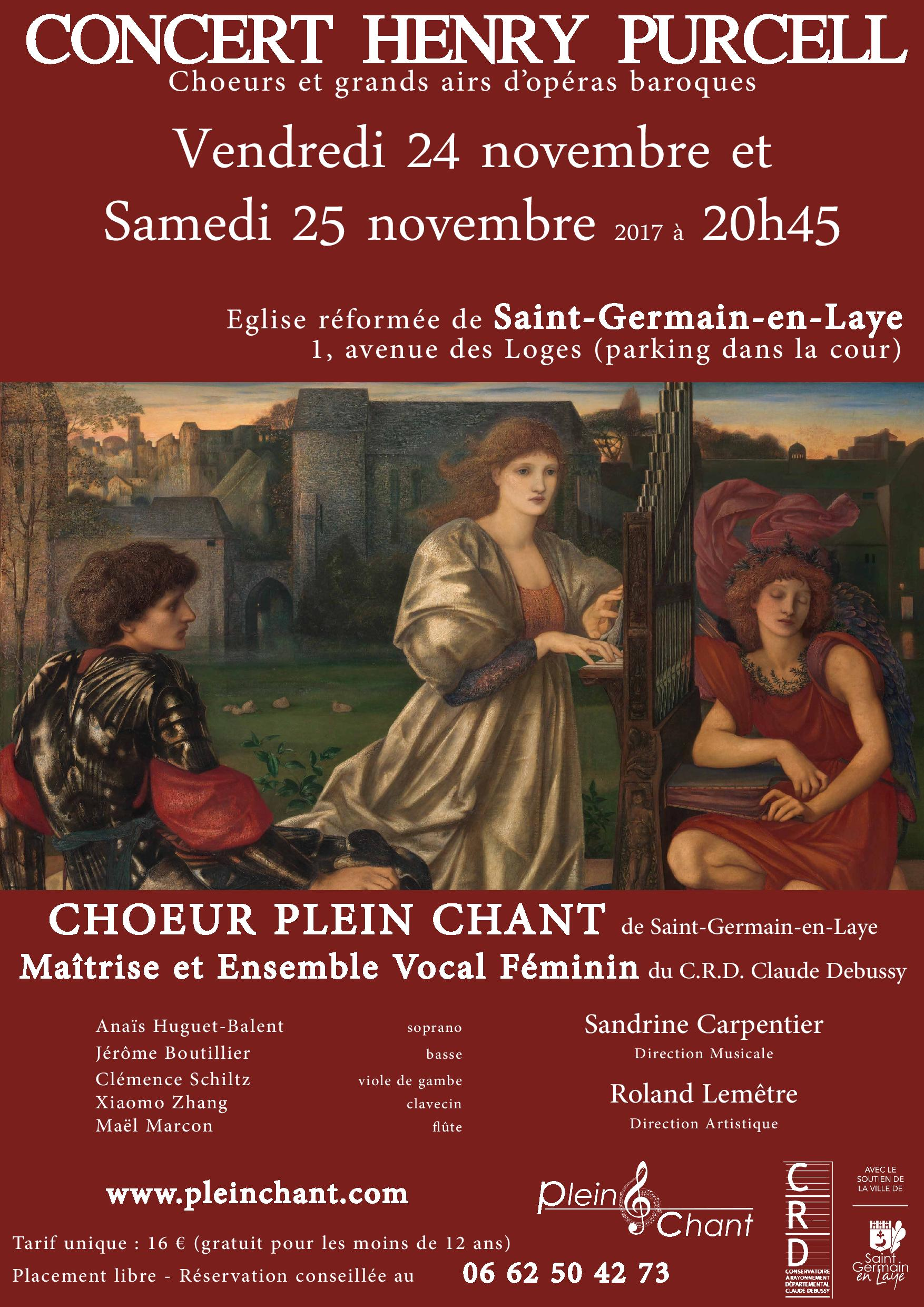Concert Henry Purcell