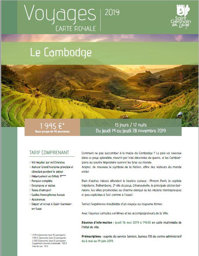 Tentez l'expérience d'un voyage au royaume khmer