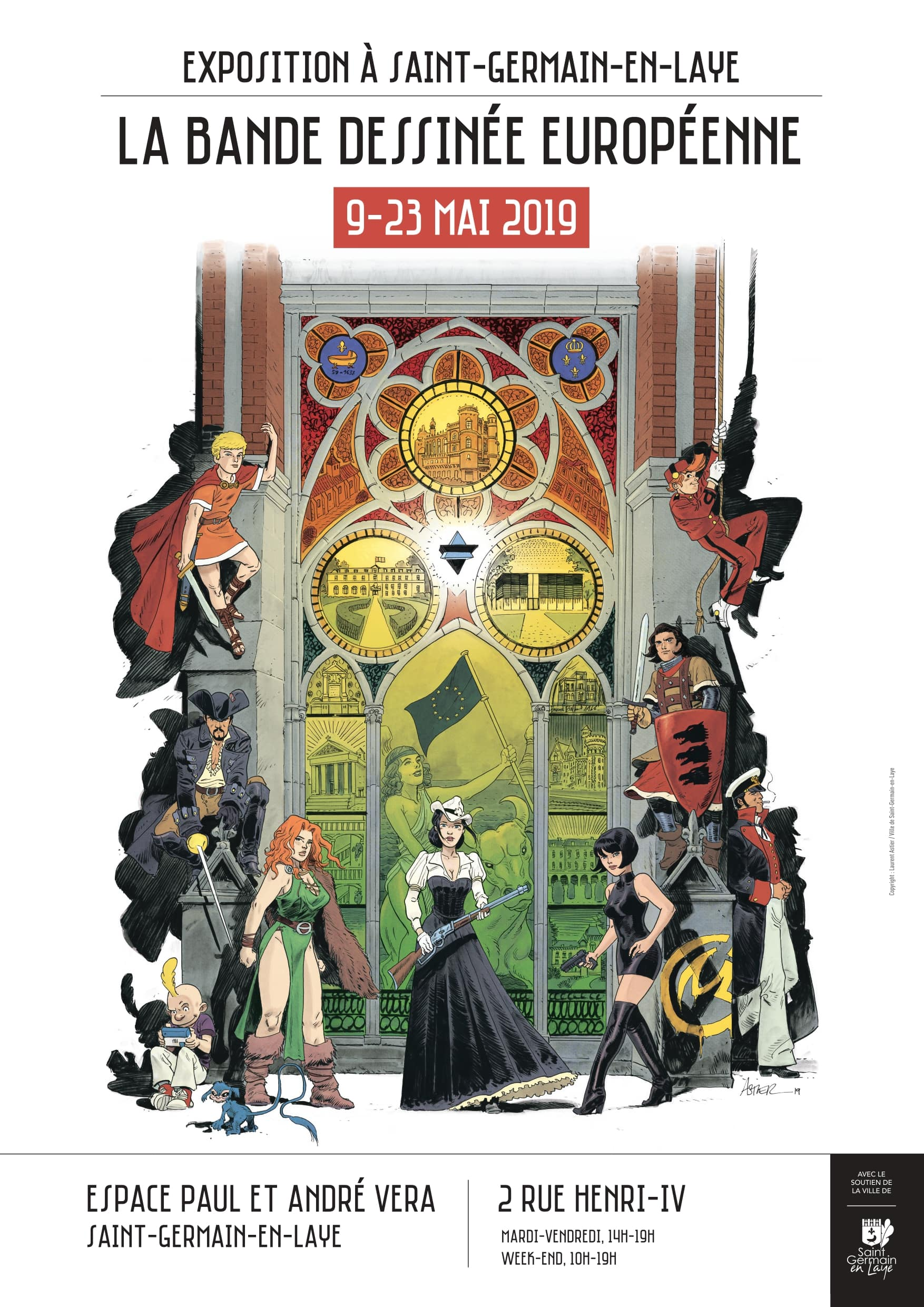 La Bande dessinée européenne