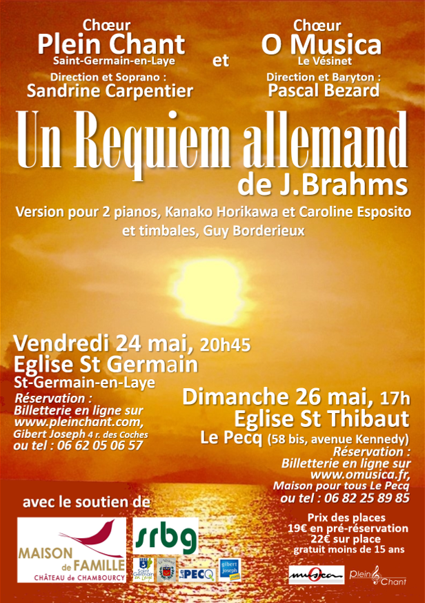 Requiem allemand de Johannes Brahms