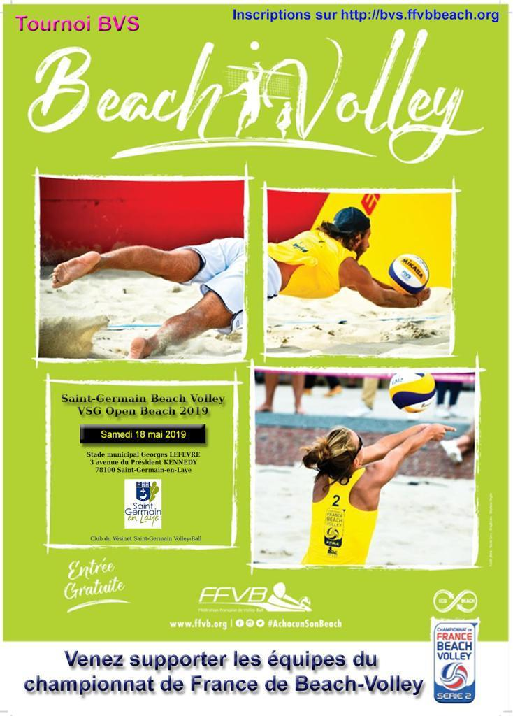Tournoi Open de Beach Volley