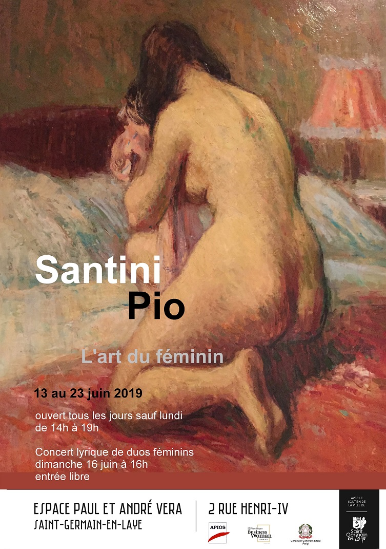 "Exposition ""Pio Santini, l'art du féminin"""