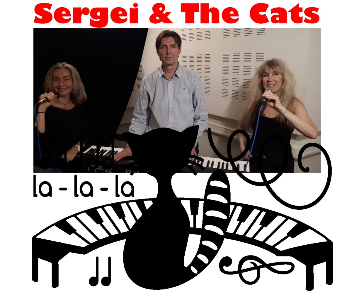 Piano bar - Sergei and the cats