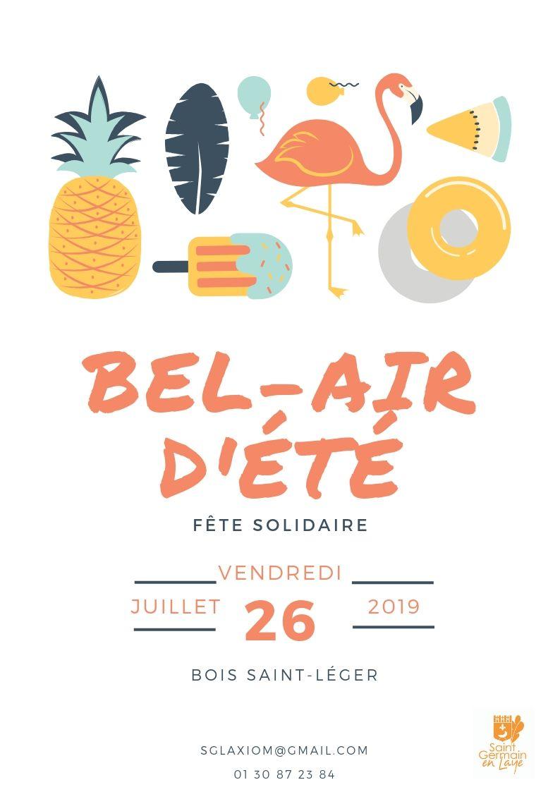 Bel-Air d'été, fête solidaire