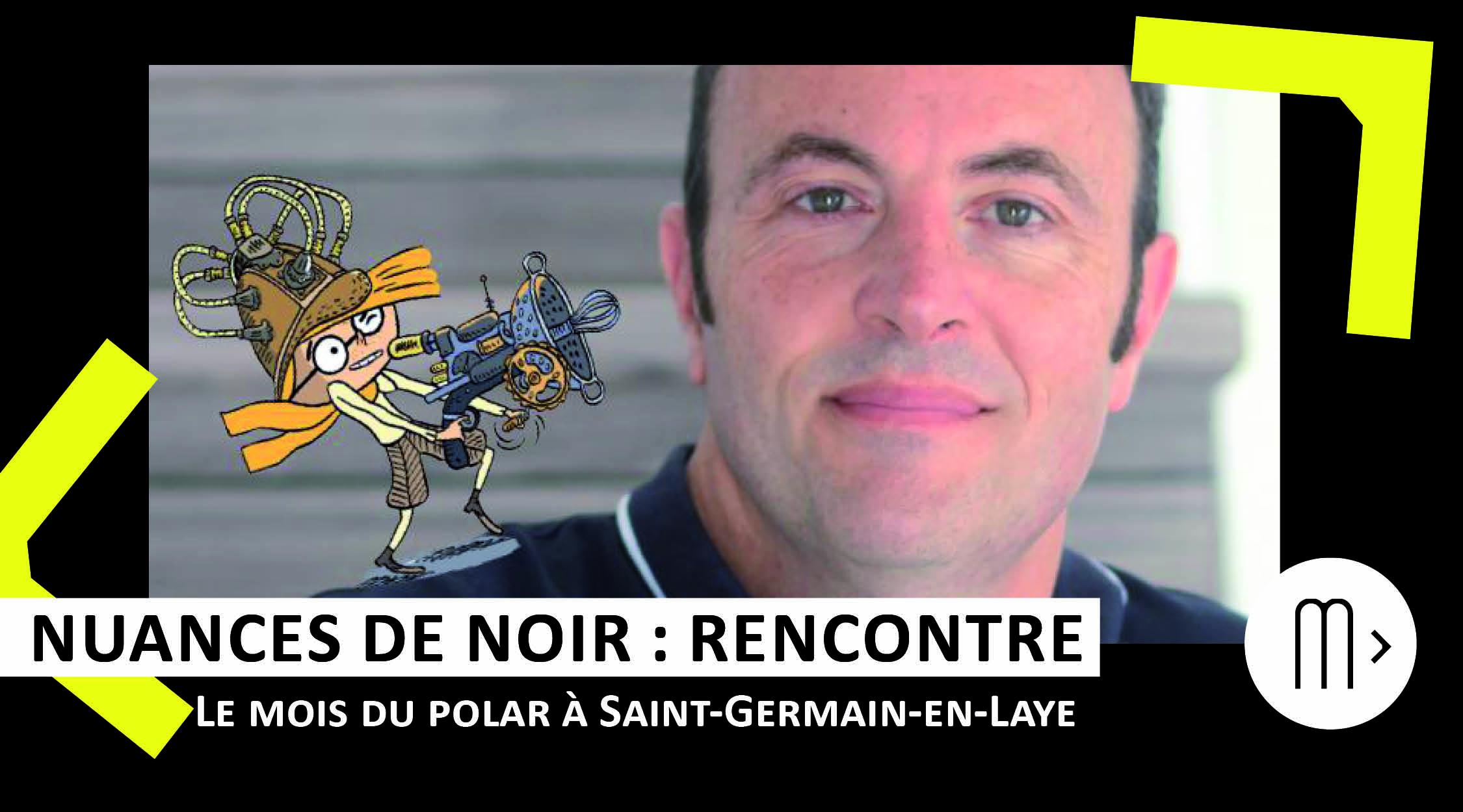 Laurent Audouin : enquêtes et machines fantastiques
