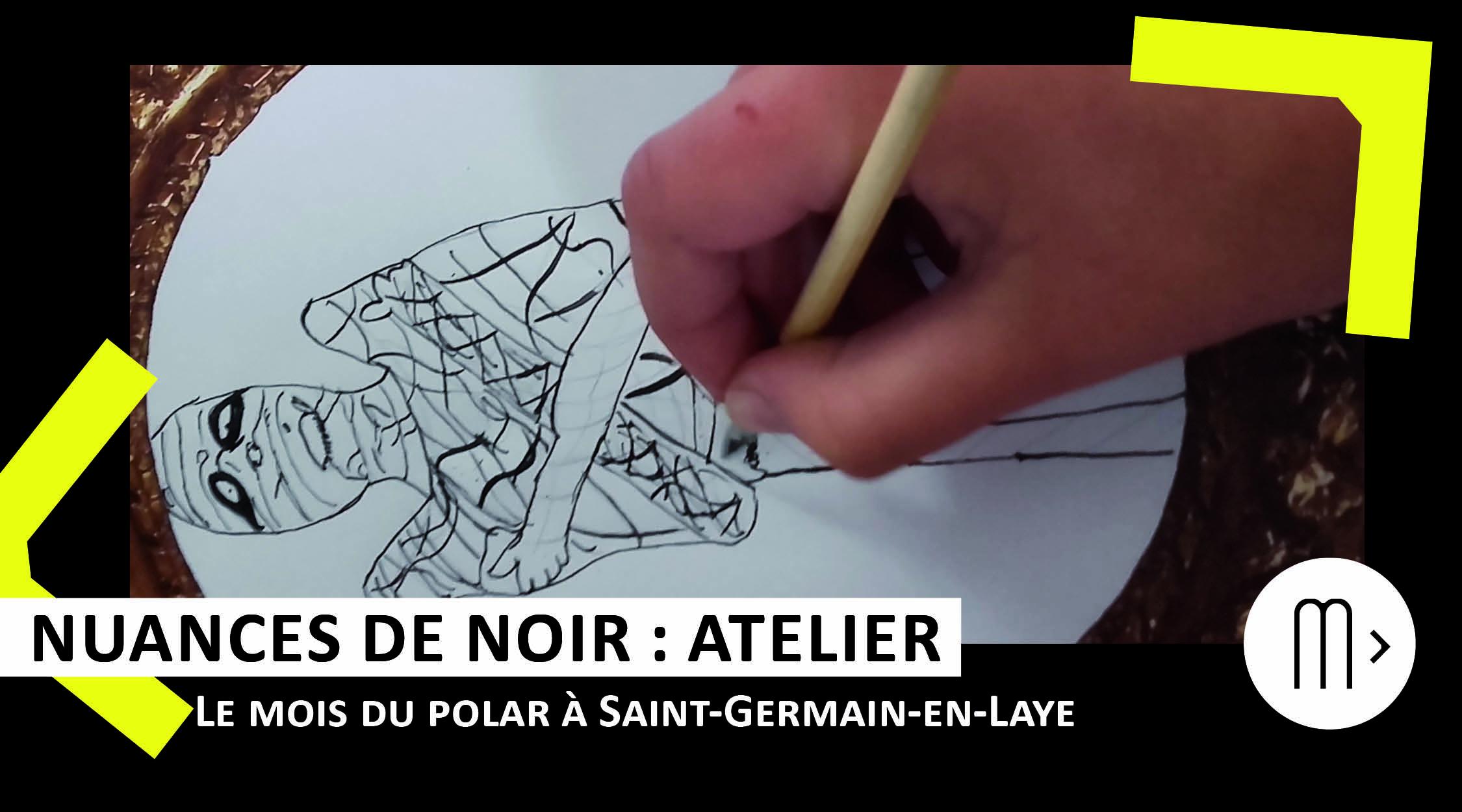 Les p'tits z'artistes dessinent avec Laurent Audouin