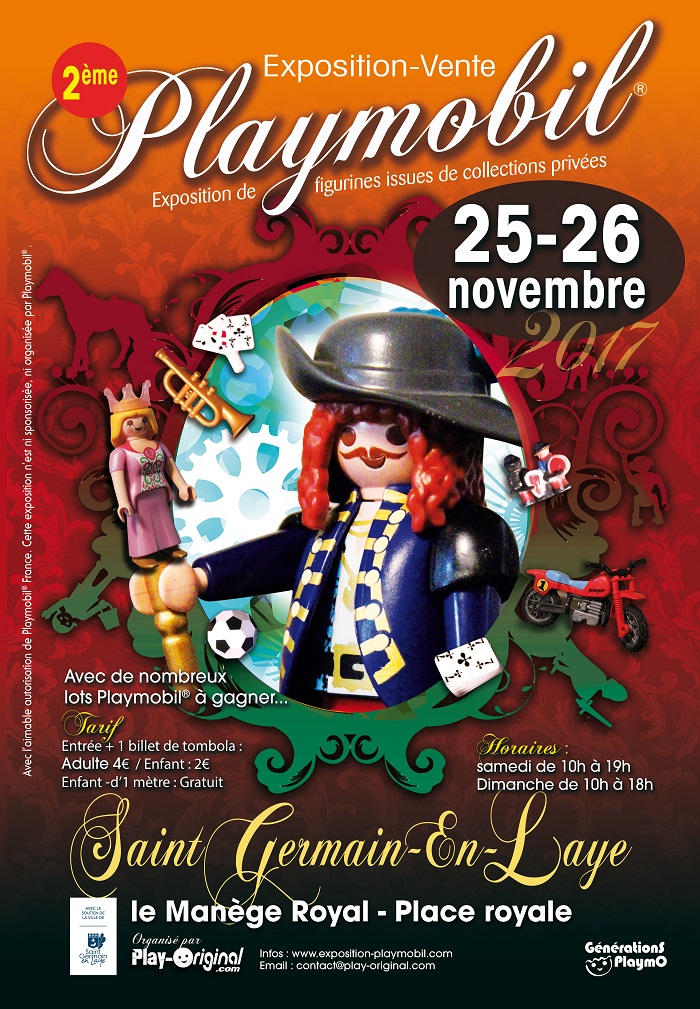 Exposition-vente Playmobil®