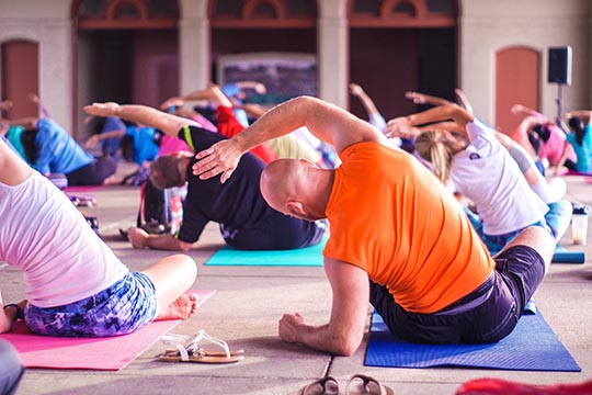 Axiom : atelier de relaxation et yoga