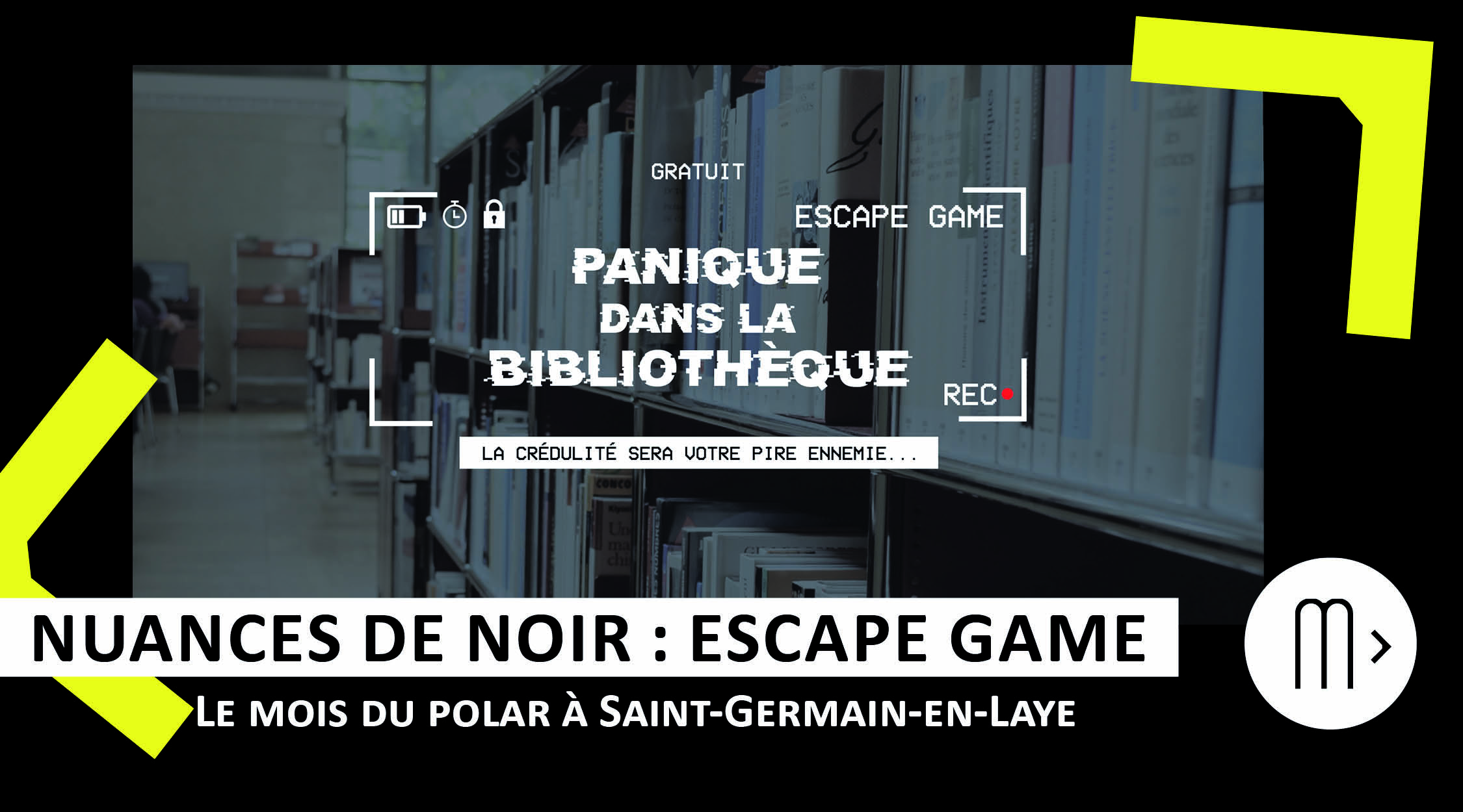 Escape game : panique à la bibliothèque