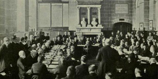 Conférence-projection : Le traité de Saint-Germain-en-Laye de 1919